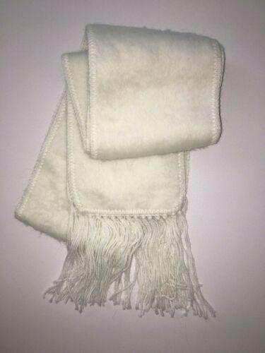 250 ALPAKA SCHAL aus WOLLE von alpaca Diana Weiß original aus Peru
