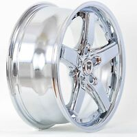 Set Of 4 Gwg Wheels 17 Inch Chrome Drift Rims 17x7.5 Fits Honda Civic Si 2006-16