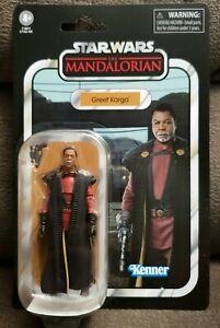 Star Wars Vintage Collection Mandalorian Greef Karga 3.75 Inch Action Figure