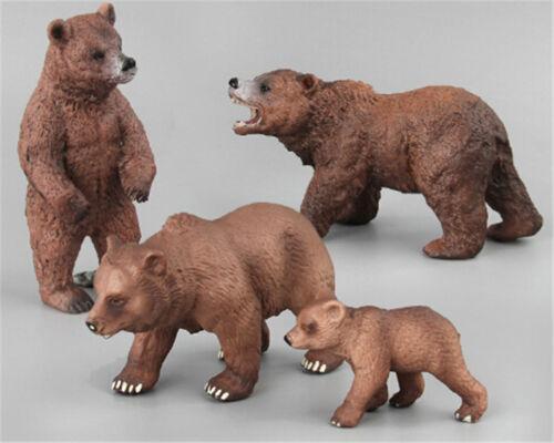 PVC Animals NPlar Bear Static Model Action Figures Kids Educational Toys Gift NP