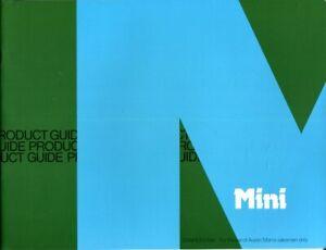 Mini-850-1000-Clubman-Saloon-Estate-1275GT-Salesman-039-s-Product-Guide-1979