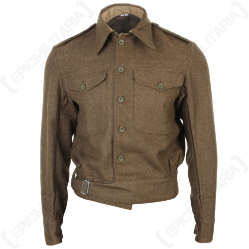 British Army 40 Pattern Tunic WW2 Repro Soldier Uniform Top Battle Dress New