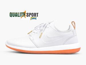 Shoes 881987 100 Nike Sneakers Ghiaccio Sportive Scarpe Two Roshe Leather Uomo azvxX1z