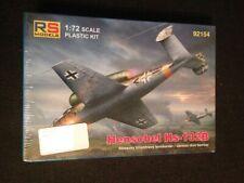 RS Models 1//72 German HENSCHEL Hs-132C Jet Dive Bomber Project