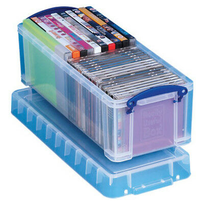 5 Really Useful Plastic Storage Boxes / Plastic 6.5 Litre 430 x 180 x 160 +24 H