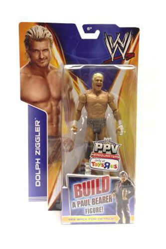 Official WWE Best of PPV 2014  MITB Dolph Ziggler (Build a Paul Bearer Figure)