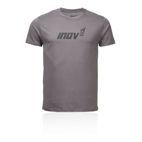 Details about  /Inov8 Mens Organic Cotton T Shirt Tee Top Grey Sports Running Breathable