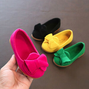 Kid-Baby-Girls-Bow-Sandals-Sneaker-Toddler-Children-Princess-Casual-Single-Shoes