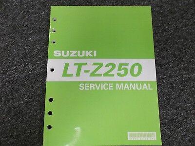 Other Motorcycle Manuals Suzuki Quadsport LTZ250 Z250 Repair ...