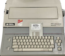 Smith Corona Pwp 4500 Plus Personal Word Processor Office System Utility Disk