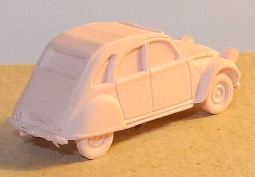 MICRO EURO MODEL HO 1//87 CITROEN 2CV BERLINE GOMME COLLECTOR couleurs au choix
