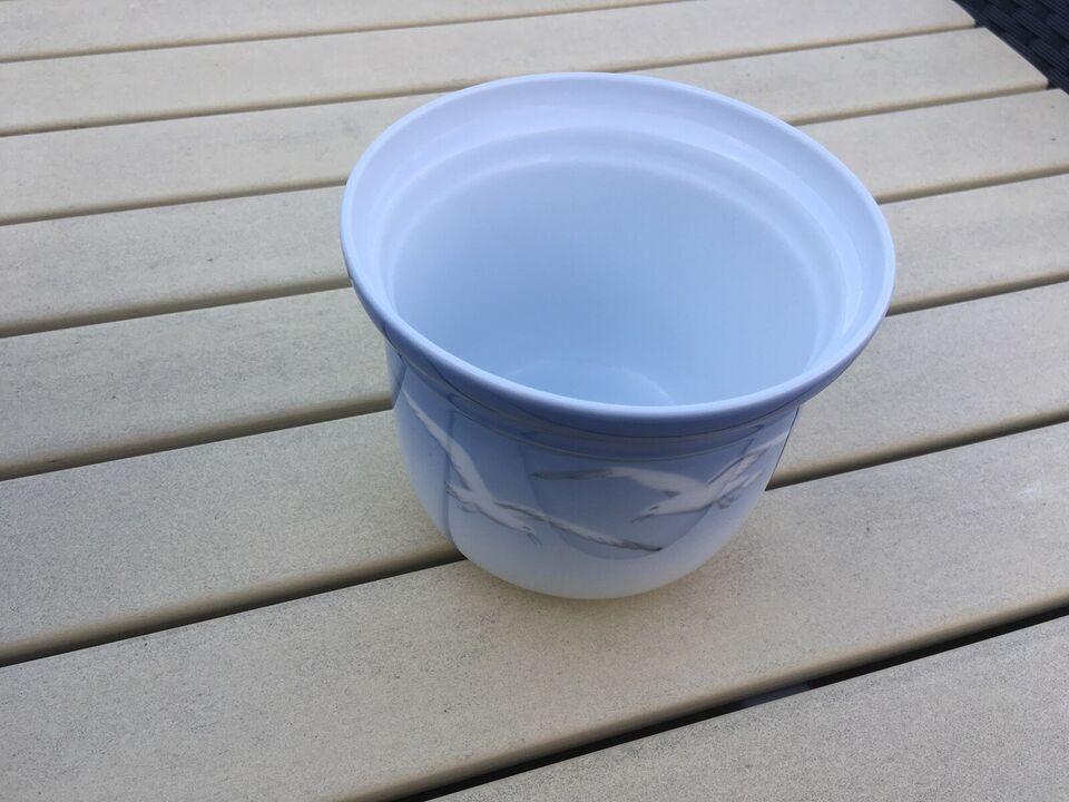 Porcelæn, urtepotteskjuler, Bing & Grøndahl nr 668