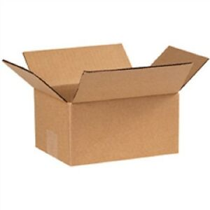 13 x 13 x 7 Corrugated Cardboard Boxes 50/lot shipping packaging moving
