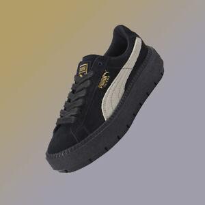 buy popular c3e6f a044f Details about Puma shoes, SUEDE PLATFORM TRACE KR , 36725901