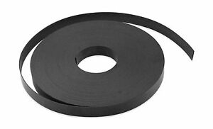"""Flexible Magnet Strip Plain No Laminate 1/16"""" Thick 1/2"""" Height... Free Shipping"""