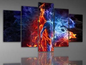 xxl format leinwandbilder 200 cm x 100 cm bild bilder 4803 leinwand 5teilig sex ebay. Black Bedroom Furniture Sets. Home Design Ideas