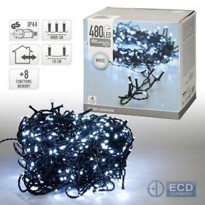 Weihnachts-Beleuchtung-LED-Lichterkette-Weihnachtslichterkette-Licht-Innen-Aussen