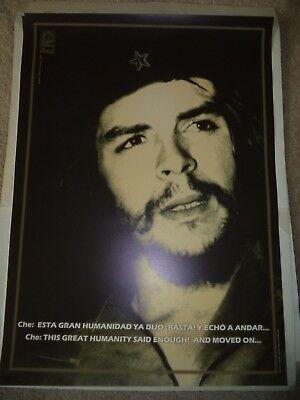 OSPAAAL CUBA Poster Che Guevara Esta Gran Humanidad ya Dijo Basta 25 X 18 INCH