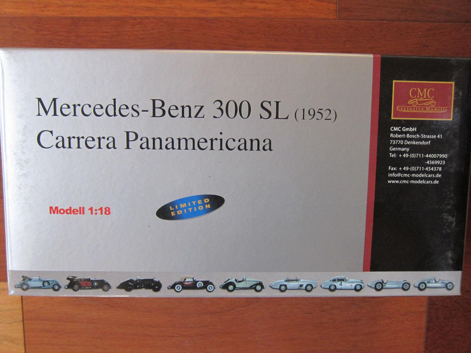 vendita online risparmia il 70% CMC 1952 Mercedes Benz Benz Benz 300 SL autorera Panamericana Limited 1 18 M-058  consegna lampo