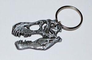 ... Rex T-Rex Dinosaur Skull Keychain Fossil Replica (Large Size) | eBay Velociraptor Keychain