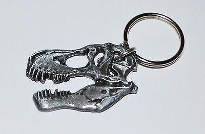 Tyrannosaurus Rex T-Rex Dinosaur Skull Keychain Fossil Replica (Large Size)