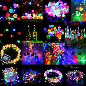 RGB-2-50M-20-400-LED-Solar-Battery-DC-Plug-Christmas-Party-String-Fairy-Light