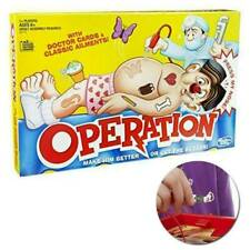 Operation Board Game Kids Family Classic Fun Children Xmas Gifts Toys UK