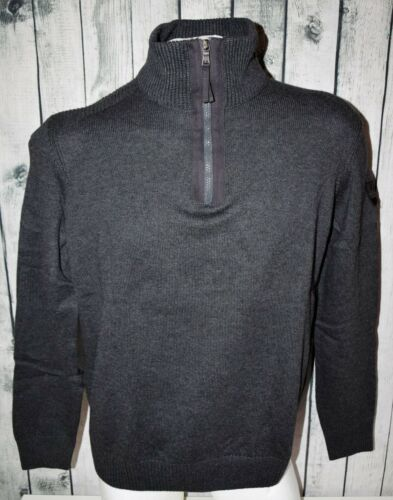 MARVELIS Pull Pullover Troyer Taille l//52 100/% coton gris foncé anthracite