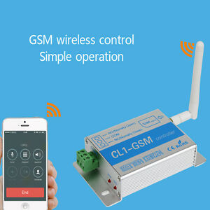 New GSM SMS Remote Control Relay Switch Phone Smart Wireless - Simple Wireless Relay Switch