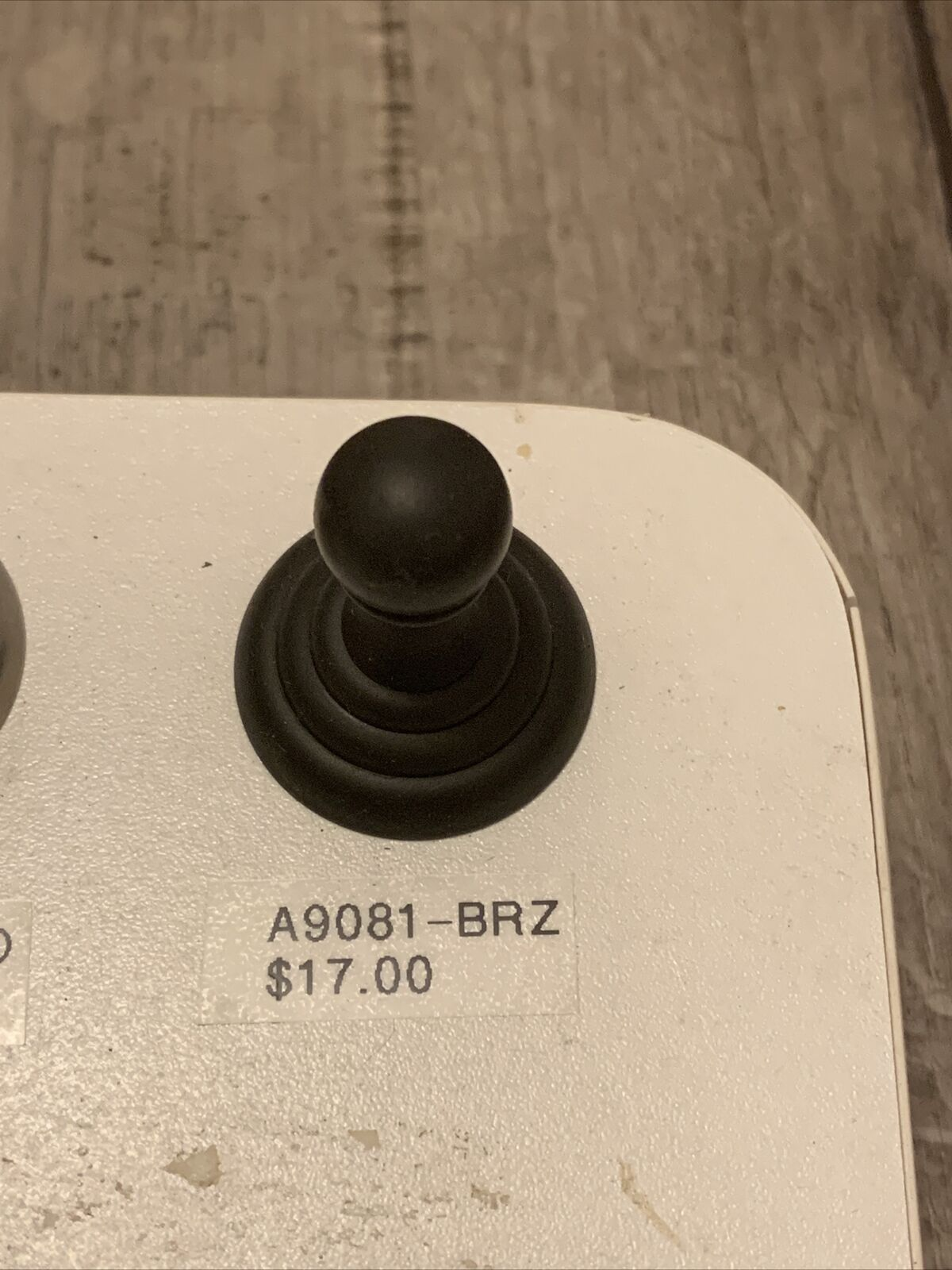 "Alno Creations A9081-BRZ Bronze Single Robe Hook 1-1/2"" Polished Brass"