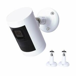 Camara-De-Seguridad-2-Pack-de-360-grados-soporte-de-montaje-para-bateria-de-leva-de-palo-de-anillo
