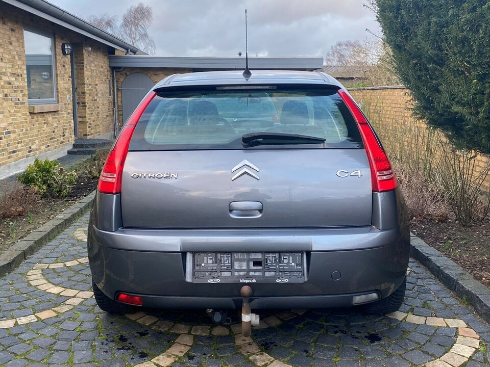 Citroën C4, 1,6 HDi 110 VTR E6G, Diesel