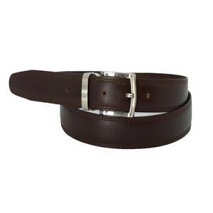Cinturón de cuero hombre. Piel auténtica.