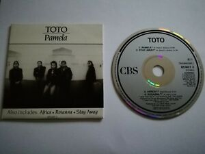 Toto-Pamela-4-Track-CD-Single-USED-Good-Condition-FREE-POSTAGE