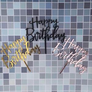 Wedding-Decoration-Happy-Birthday-Cake-Topper-Acrylic-Decor-Party-Supplies