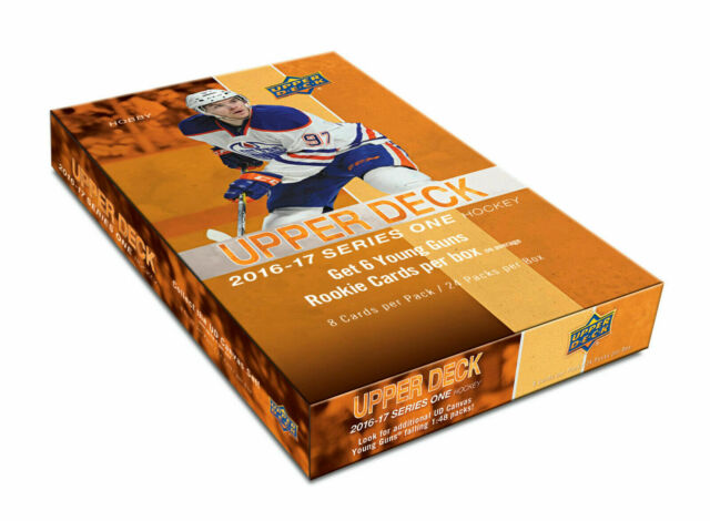 2016-17 Upper Deck Series 1 Hockey Hobby Box SEALED BRAND NEW