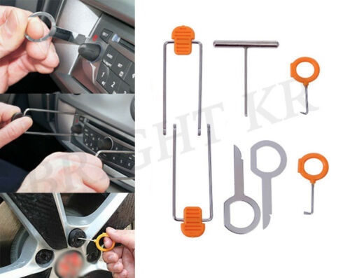 Audi A3 A4 A6 Interior Exterior Dashboard Clip Audio 7PCs Removal Tool Kit Set
