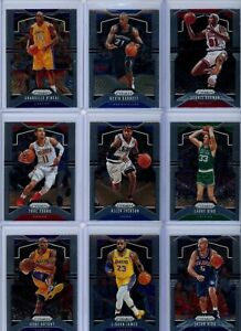 2019-20 Panini Prizm Basketball Base Card Singles #'S 1-150 - Pick Your Players