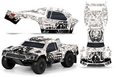 Rc Corpo Scheda Grafica Kit Decalcomania Avvolgere Per Pro-line Fluo-tek Camion