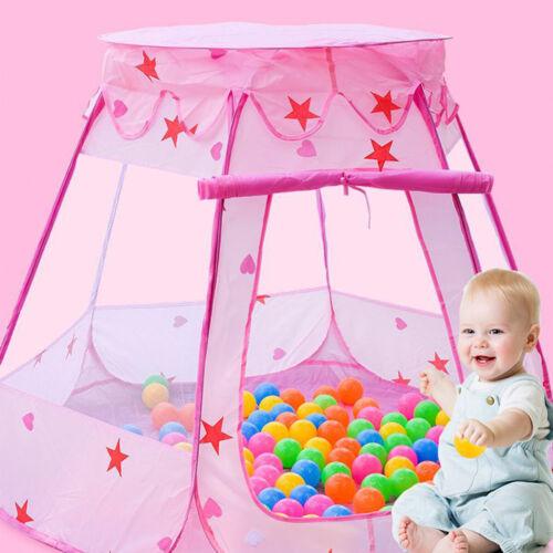 Barraca Para Crianças brincar diversão Pop-up Playhouse Para Meninas Meninos Bebê Crianças Piscina De Bolinhas Indoor