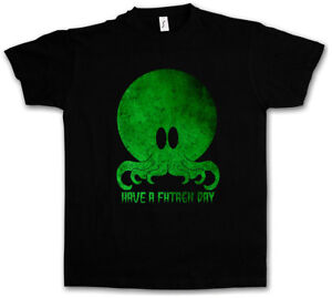 Cthulhu Have A Fhtagn Day Pullover Sweatshirt Arkham H P Miskatonic Lovecraft