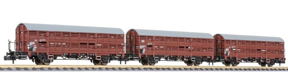 Hs Liliput l260135 verschlagwagen-set hbes 358 3 piezas DB época IV
