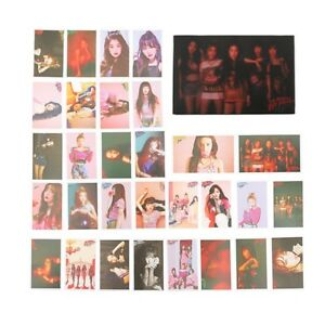 30pcs-Cute-KPOP-Red-Velvet-BAD-BOY-Photo-Card-Poster-Lomo-Cards-For-Fans