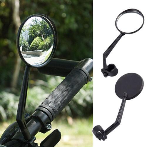Kit Convesso Specchietto Retrovisore Manubrio Regolabile Per Bicicletta Bici