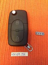 AUDI A3 A4 TT A6 CENTRAL LOCK REMOTE KEY FOB 4D0 837 231  4D0837231