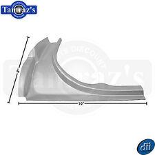 65-66 Mustang Trunk Jamb Weatherstrip Gutter Channel Lower Filler Panel - LH