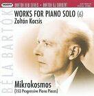 Bart¢k: Works for Piano Solo, Vol. 6 (CD, Apr-2008, 2 Discs, Hungaroton)