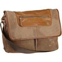 Genuine Tumi T-tech Forge Rum Canvas & Leather Allegheny Messenger Rrp $399.95