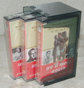 We-039-ll-Meet-Again-Reader-039-s-Digest-3-Set-Sealed-Cassettes-Perfect-New