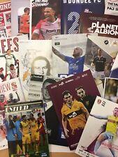 18/19 English And Scottish League Programme Bundle X 80